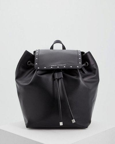 Черный рюкзак Armani Exchange