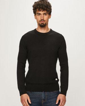Sweter z kapturem wełniany Produkt By Jack & Jones