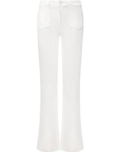 Расклешенные джинсы белые Paige
