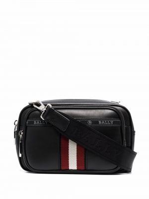 Черная сумка с логотипом Bally