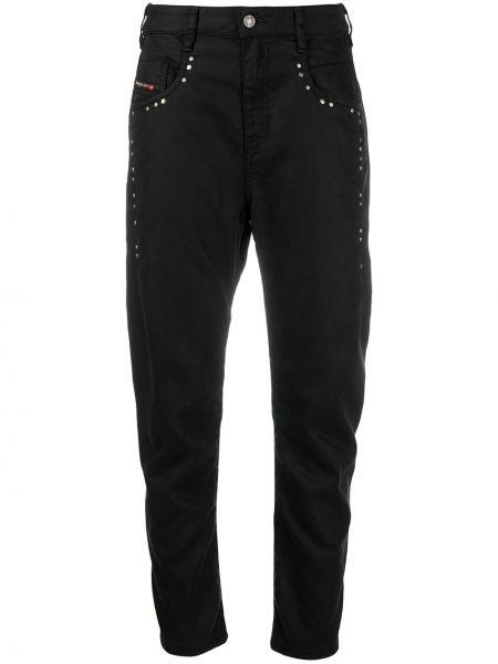 Srebro bawełna bawełna jeansy chłopaki z kieszeniami Diesel