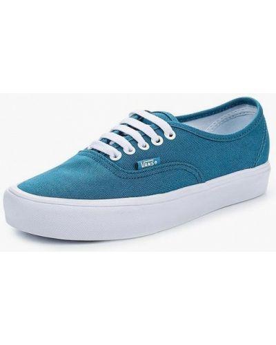 Голубые кеды Vans