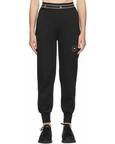 Трикотажные палаццо - черные Adidas By Stella Mccartney