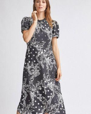 Платье серое прямое Dorothy Perkins