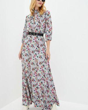 Вечернее платье - серое Genevie