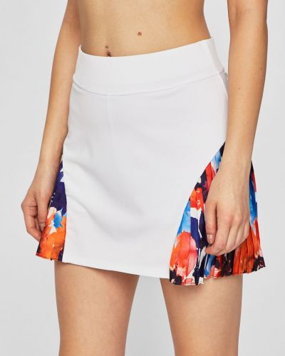 Плиссированная спортивная юбка на резинке Desigual Sport
