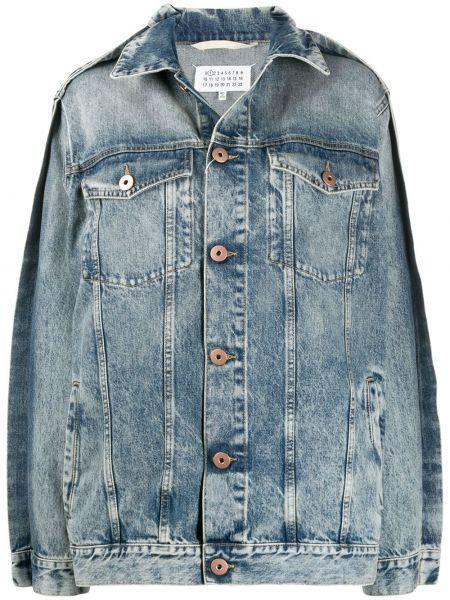 Джинсовая куртка на пуговицах с карманами Maison Margiela
