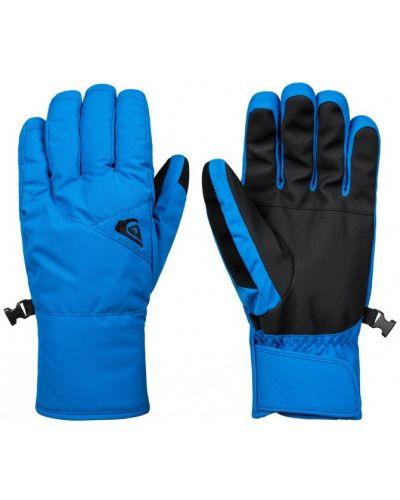 Синие перчатки Quiksilver