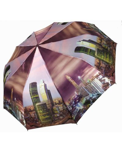Складной зонт - фиолетовый Flagman