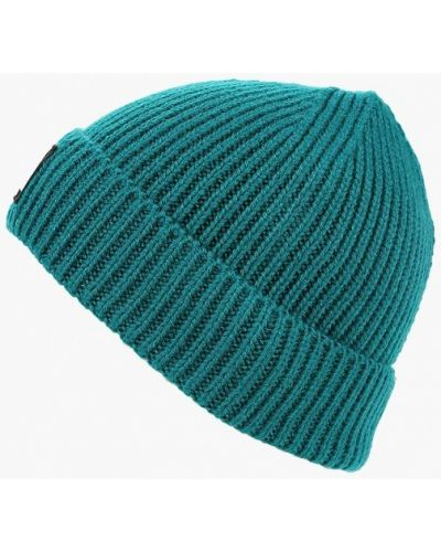 Бирюзовая шапка осенняя The North Face