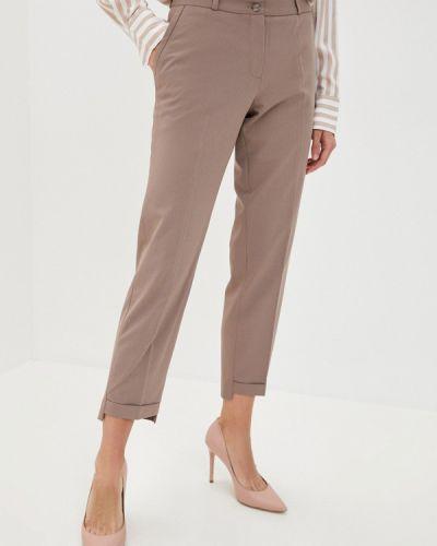 Повседневные бежевые брюки Dlys