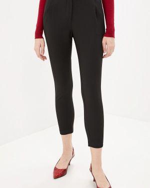 Черные классические брюки с карманами Pdk