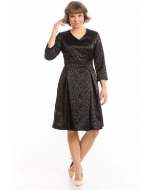Платье с поясом с запахом с V-образным вырезом Merlis