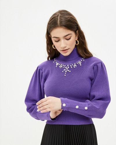 Фиолетовый свитер D'she