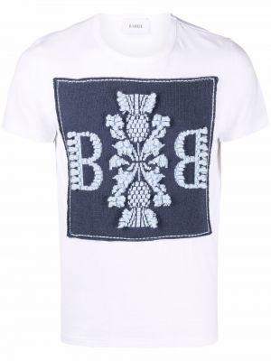 Biała t-shirt bawełniana Barrie