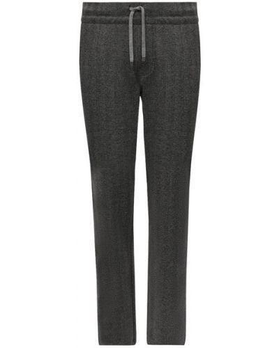 Серые хлопковые брюки Capobianco