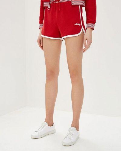 Спортивные шорты красный Juicy By Juicy Couture