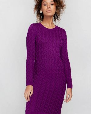 Фиолетовое клубное платье Nataclub