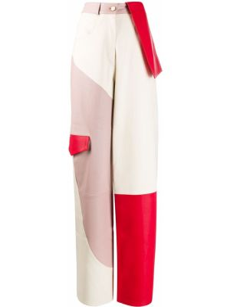 Spodnie z kieszeniami białe Jacquemus