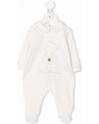 Piżama z długimi rękawami - biała Miss Blumarine