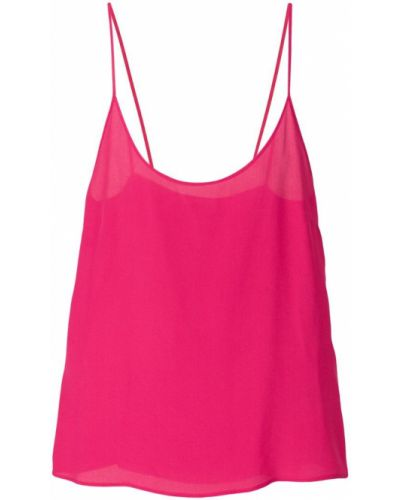 Розовый топ Capucci