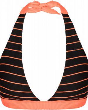 Пляжный гипоаллергенный черный спортивный купальник с чашками Protest