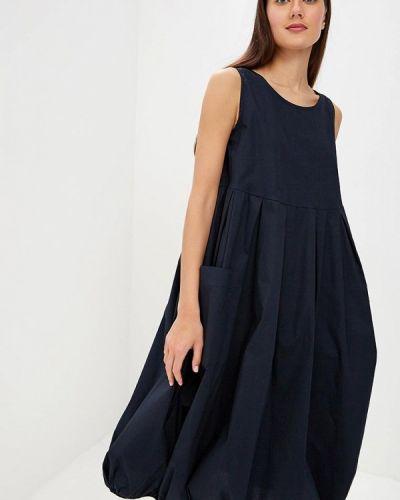 Платье - синее Massimiliano Bini