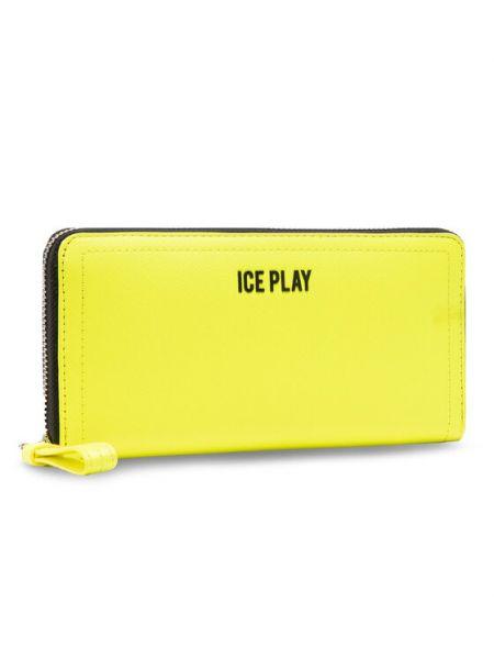 Żółty portfel oversize Ice Play