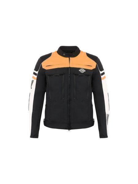 С рукавами нейлоновая куртка с карманами со вставками Harley Davidson