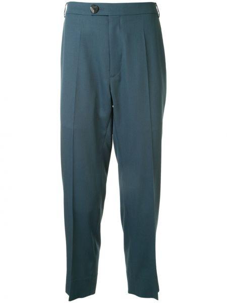 Прямые прямые брюки на пуговицах с карманами новогодние Namacheko