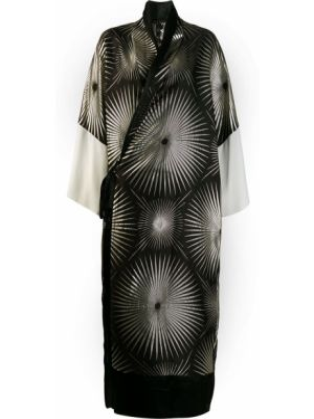 Платье кимоно черное Haider Ackermann