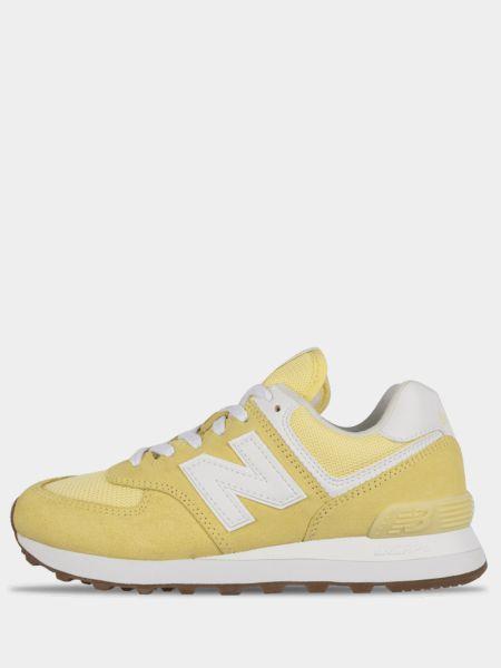 Городские желтые кроссовки New Balance