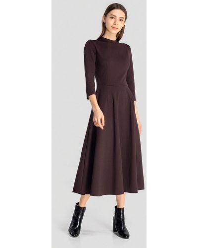 Платье - коричневое Grass