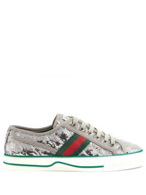 Sneakersy, srebro Gucci