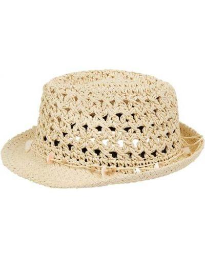 Beżowy kapelusz z kokardą Chillouts