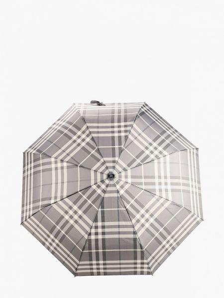 Зонт серый складной Fabretti