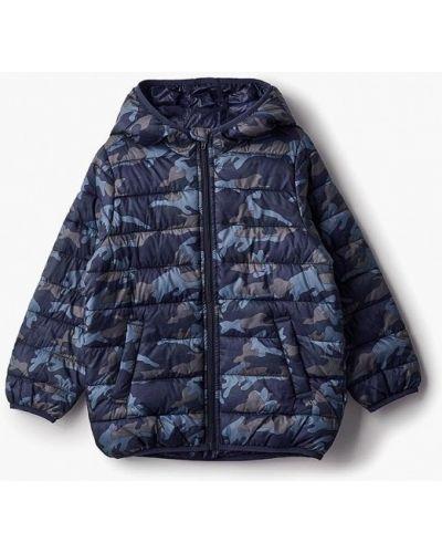 Синяя куртка теплая United Colors Of Benetton