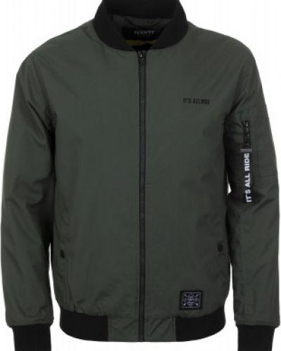 Куртка с капюшоном спортивная зеленая Termit