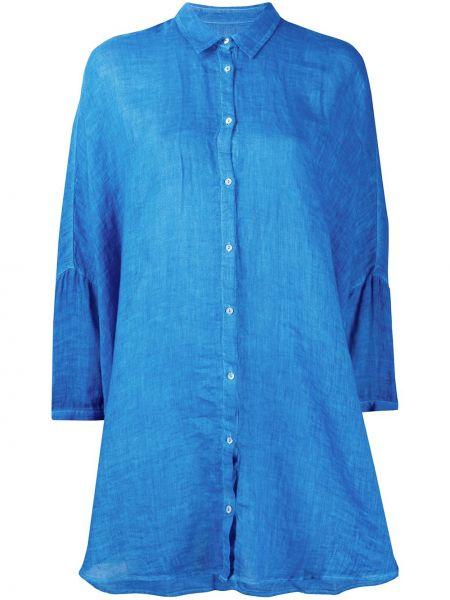 Синий топ 120% Lino