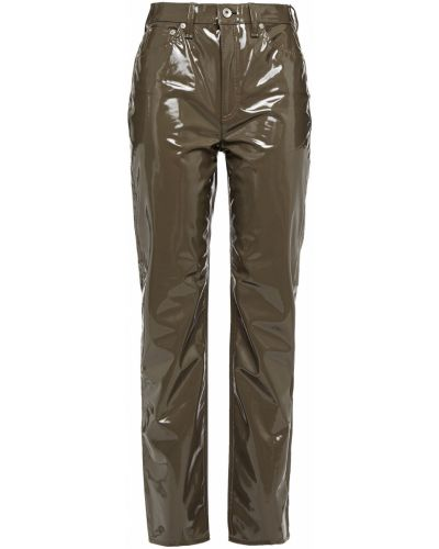 Zielone spodnie z paskiem Rag & Bone
