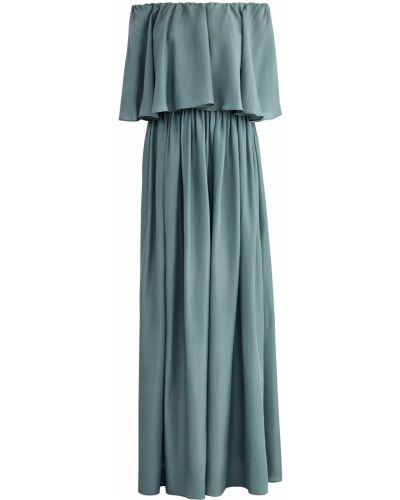 Платье макси в стиле бохо со вставками Brunello Cucinelli