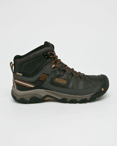 Кожаные ботинки мембранные теплые Keen