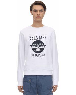Bluza na szyi z nadrukiem Belstaff
