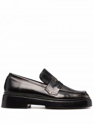 Черные кожаные туфли Rejina Pyo