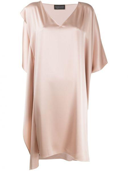 Sukienka mini dla wysokich kobiet przeoczenie Gianluca Capannolo