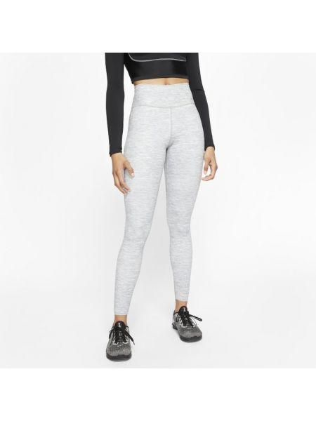 Szary legginsy z kieszeniami Nike