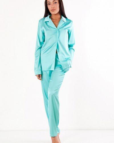 Бирюзовая пижамная пижама Dono