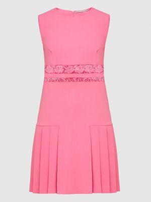 Розовое платье миди Ermanno Scervino