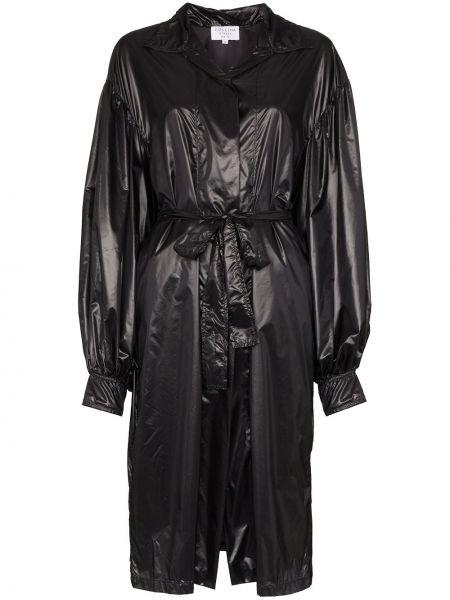Długi płaszcz z kieszeniami z kołnierzem Collina Strada