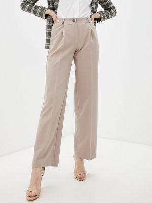 Расклешенные бежевые брюки Irma Dressy